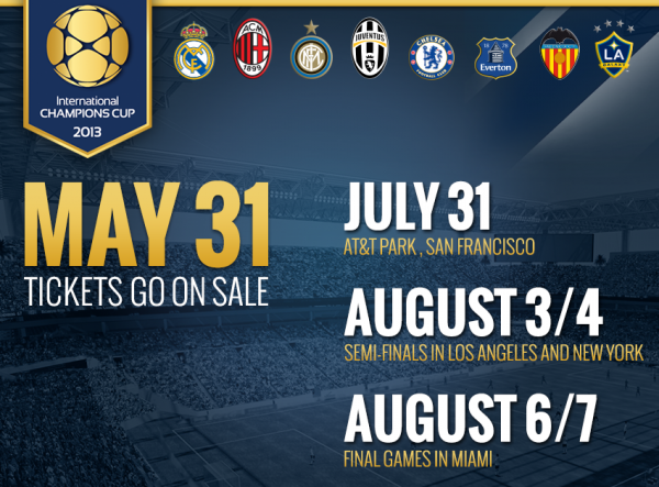 international champions cup1 600x443 Tickets Go On Sale For International Champions Cup