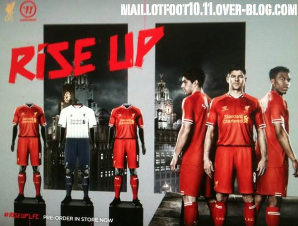 Liverpool Home Shirt for 2013 14 Season Revealed: Leaked [PHOTO]