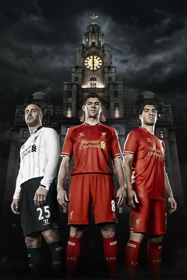 Liverpool Unveil Home Shirt for 2013 14 Season: Official [PHOTOS]