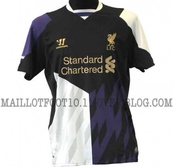 liverpool third shirt 600x580 Liverpools Third Shirt For 2013 14 Season: New Leaked [PHOTO]