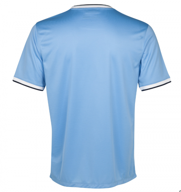 man city home shirt back1 600x639 Manchester City Officially Unveil Their Home Kit for the 2013 14 Season [PHOTOS]