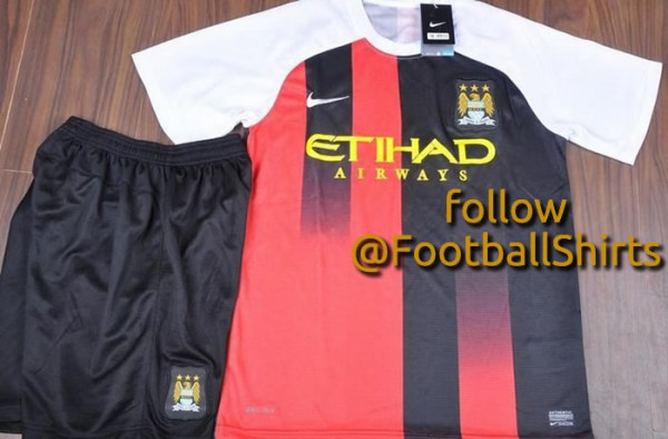 manchester city away third shirt 600x394 Is This Manchester Citys Third Shirt for the 2013 14 Season? [PHOTO]
