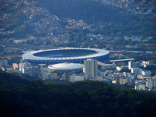 maracana stadium1 Odds On Brazil, Germany, Argentina or Holland Winning the World Cup