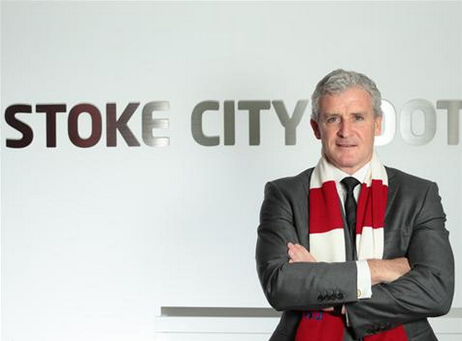 mark hughes Stoke City Appoint Mark Hughes As Manager to Replace Tony Pulis