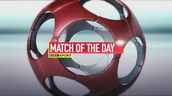 motd 600x334 BBCs Match Of The Day Opening for the 2013 14 Season [VIDEO]