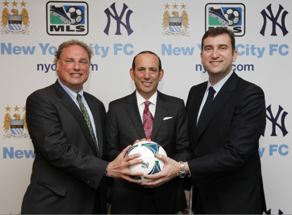new york city fc 600x442 Manchester City Are The Majority Owners of New York City FC, MLSs 20th Team: Official