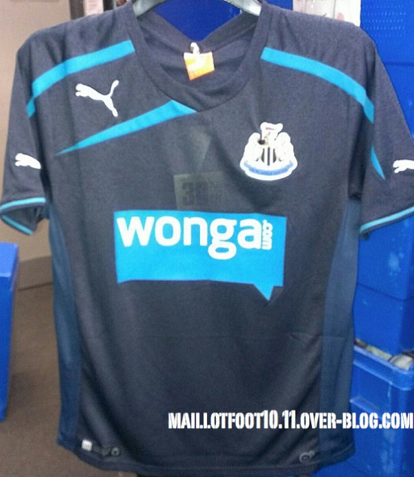Newcastle United Away Shirt for 2013 14 Season: New [PHOTOS]
