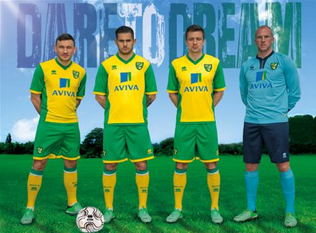 norwich city home shirt Norwich City Unveil New Home Kit For 2013 14 Season: [PHOTO] & [VIDEO]