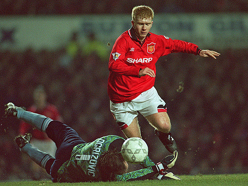 paul scholes The Best Of Paul Scholes: Goals and Assists From 1993 to 2007 [VIDEO]