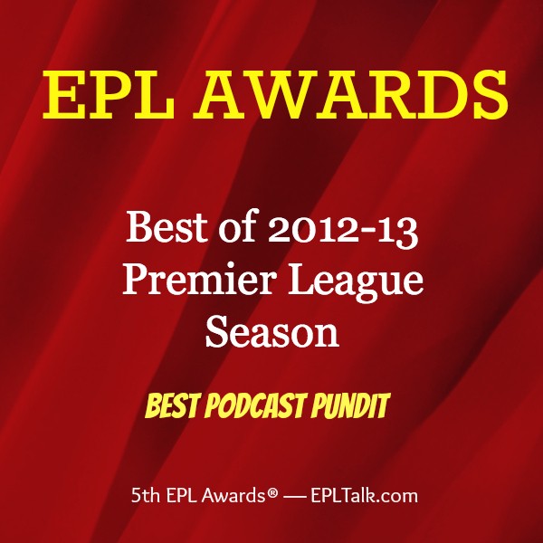 podcast pundit 600x600 2013 EPL Awards: Best Podcast Pundit