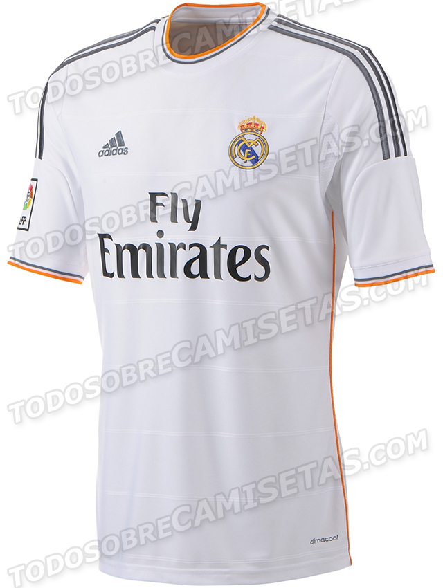 detailed look 5f8a1 5cafe Real Madrid's Home Shirt for the 2013-14 Season [PHOTO ...