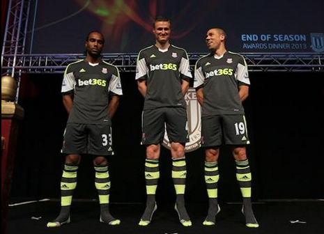 stoke city away shirt official Stoke City, Are You Columbus Crew In Disguise? New Away Shirt for 2013 14 Season [PHOTO]