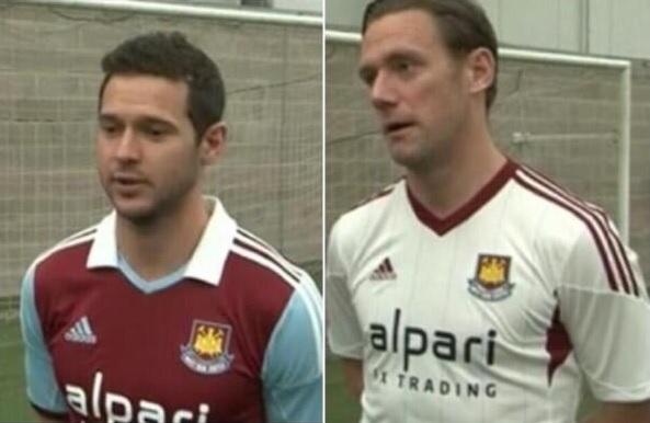 west ham home away shirts West Ham United Home and Away Shirts for 2013 14 Season: Leaked [PHOTO]