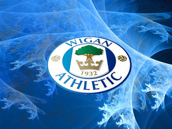 wigan athletic crest 600x450 Post Match Interviews With FA Cup Final Winners Martinez, Watson, McManaman & Others