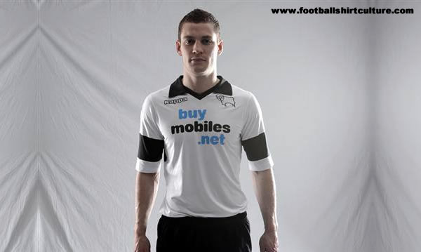 Derby home shirt Derby County Home Shirt for 2013 14 Season Revealed [PHOTOS]
