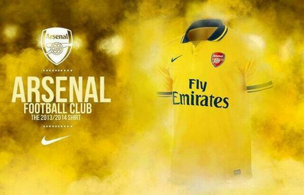 arsenal away shirt Arsenal Away Shirt for 2013 14 Season Confirmed: New Leaked [PHOTO]
