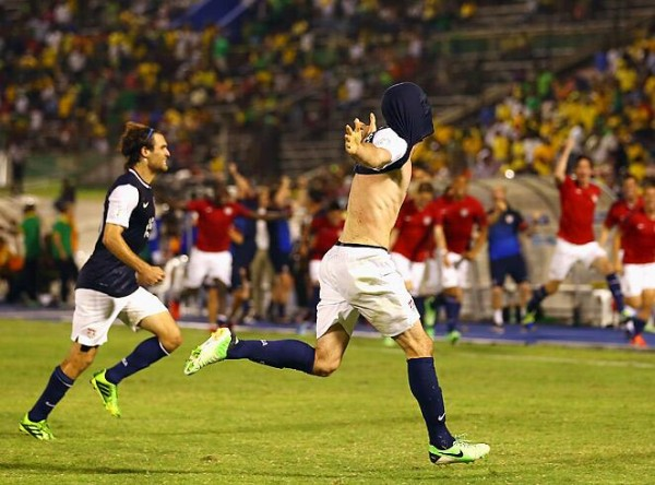brad evans 600x444 Jamaica vs US Mens National Team Goal Highlights [VIDEO]