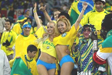 brazil fans1 Brazil vs Japan, Confederations Cup, Group Stage: Open Thread
