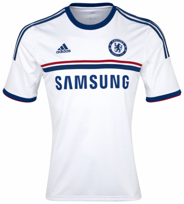 chelsea away shirt front Chelsea Away Shirt for 2013 14 Season Unveiled: Official [PHOTOS]