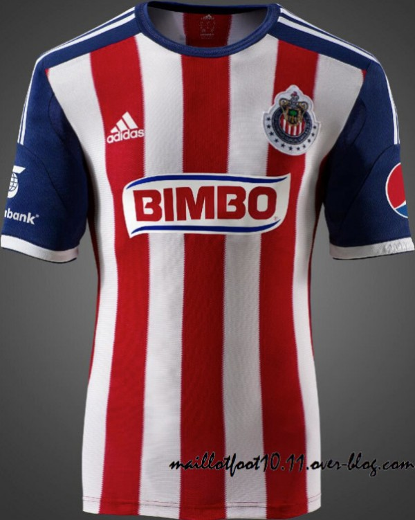 Chivas del Guadalajara Home Shirt for 2013 14 Season [PHOTOS]