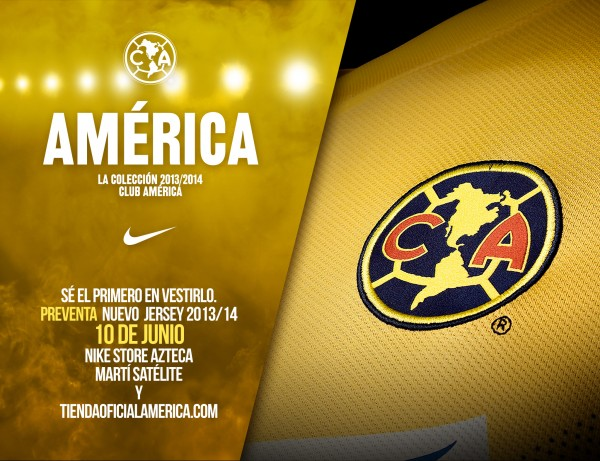club america graphic 600x461 Club America Home Shirt for 2013 14 [PHOTOS]
