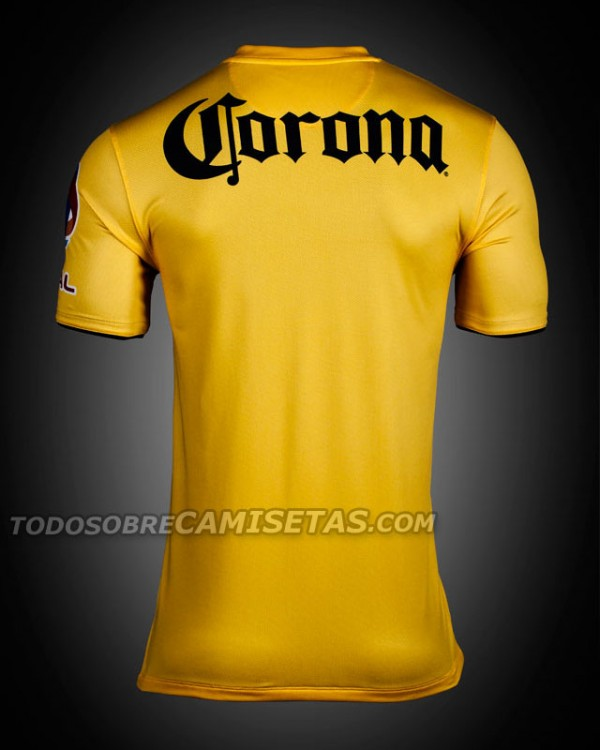 club america home shirt back 600x750 Club America Home Shirt for 2013 14 [PHOTOS]