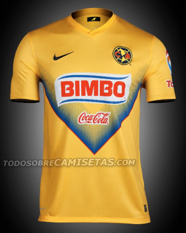club america home shirt front 600x750 Club America Home Shirt for 2013 14 [PHOTOS]