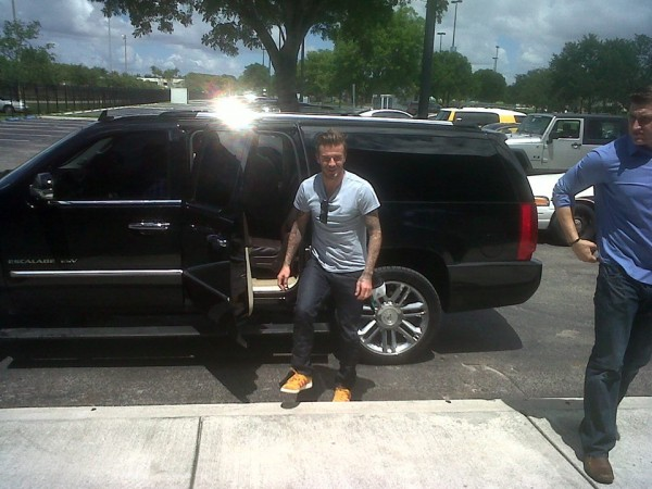 david beckham miami 600x450 David Beckham Says Prospect of Owning Miami MLS Team is Exciting: The Daily EPL