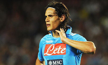 edison cavani Edinson Cavani Wanted By Manchester City and Chelsea, Says Napoli President