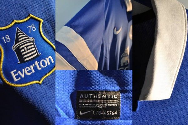 everton home shirt closeup1 600x401 Everton Home Shirt for 2013 14 Season Launched: Official [PHOTOS]