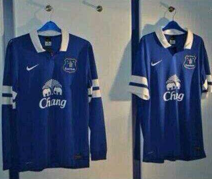 everton home shirt Everton Home Shirt For 2013 14 Season: Leaked [PHOTOS]