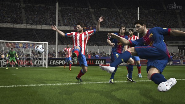 fifa 14 barca screenshot 600x337 EA Sports Announces FIFA 14 Next Gen Details [PHOTOS]