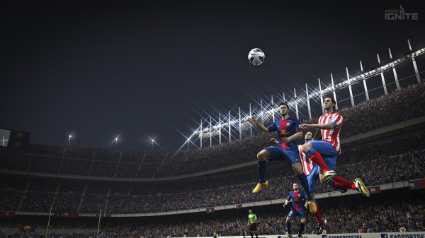 fifa 14 barca screenshot nextgen 600x337 FIFA 14 Next Gen Footage For Xbox One [VIDEO]