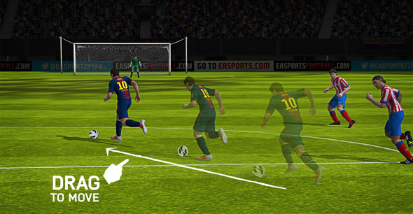 fifa 14 ios drag Details Emerge About FIFA 14 For Android and iOS Devices