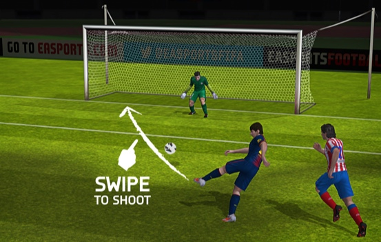 fifa 14 ios swipe Details Emerge About FIFA 14 For Android and iOS Devices