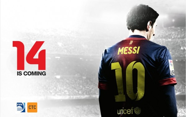 fifa 14 messi 600x377 FIFA 14: All the Details About The New Video Game [PHOTOS] & [VIDEO]