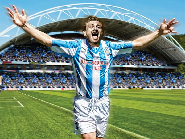 huddersfield shirt Huddersfield Town Launch New Home Shirt With Blast From The Past [PHOTOS]
