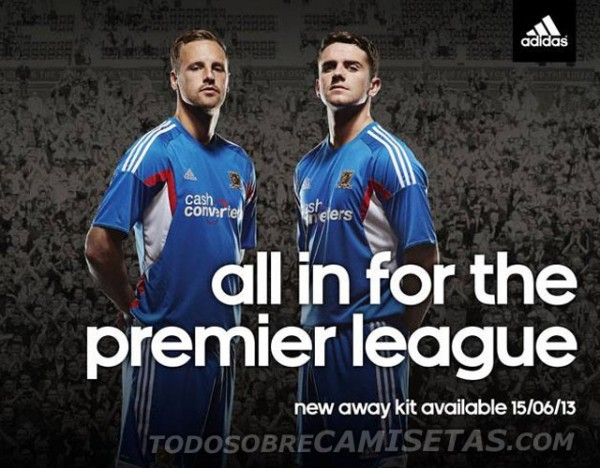 hull city away shirt 600x468 Hull City Away Shirt for 2013 14 Season [PHOTO]