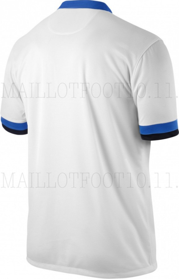 inter milan away shirt back 578x900 Inter Milan Home and Away Shirts for 2013 14 Season: Leaked [PHOTOS]