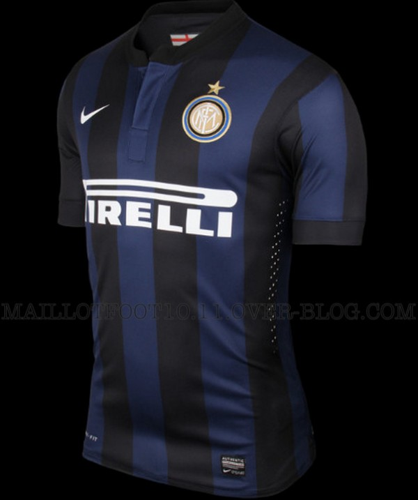 inter milan home shirt front var 600x717 Inter Milan Home and Away Shirts for 2013 14 Season: Leaked [PHOTOS]