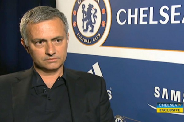 jose mourinho 600x399 Watch Jose Mourinhos First Chelsea Interview After Being Reappointed Manager [VIDEO]