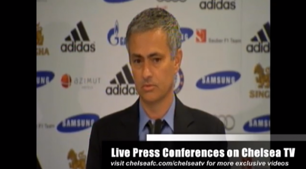 jose mourinho chelsea 600x331 Jose Mourinho Says Hes Prepared to Stay at Chelsea For a Long Time [VIDEO]