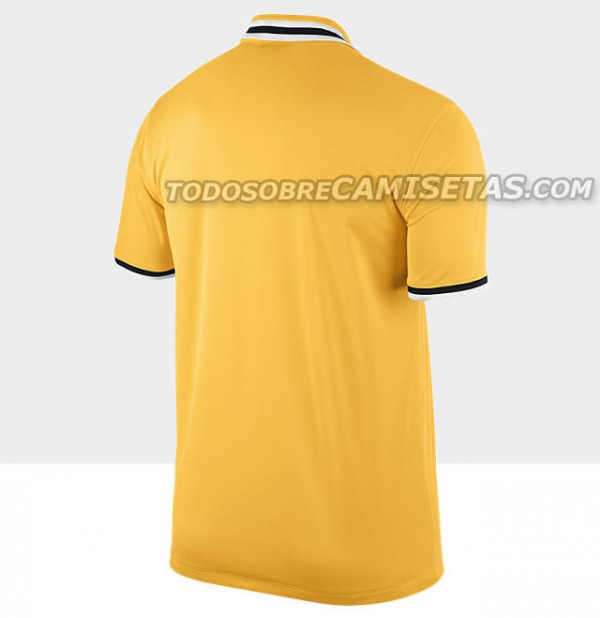 juventus away shirt back 600x618 Juventus Away Shirt for 2013 14 Season: Leaked [PHOTOS]