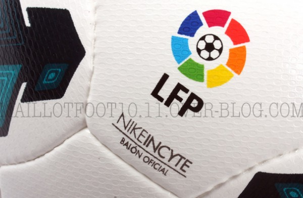 la liga 2013 14 ball closeup 600x392 Official Nike Balls for Premier League, Serie A and La Liga 2013 14 Season Revealed: Leaked [PHOTOS]