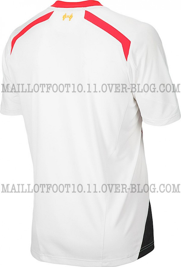liverpool away shirt back 600x881 Liverpool Away Shirt for 2013 14 Season: New Leaked [PHOTOS]
