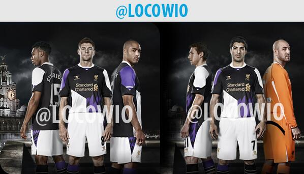 liverpool third shirt1 Liverpool Third Shirt for 2013 14 Season: New Leaked [PHOTO]