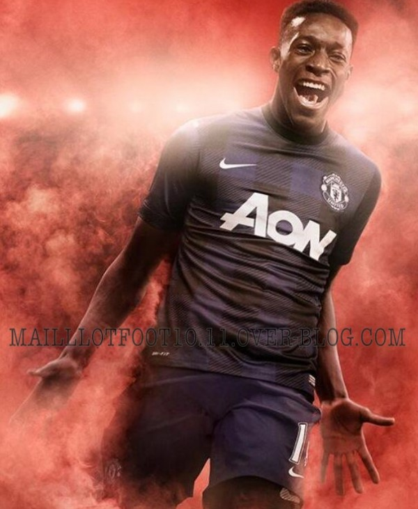 manchester united away kit 600x731 Manchester United Away Shirt for 2013 14 Season: New Leaked [PHOTO]