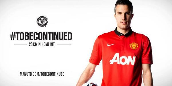 new man united home shirt rvp Manchester United Home Shirt for 2013 14 Season: Official [PHOTOS]