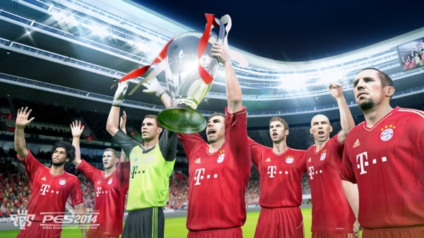 pes 2014 bayern munich 600x337 PES 2014 Will Feature New Engine To Give FIFA 14 A Run For Its Money