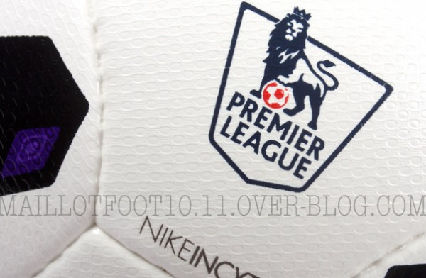 premier league 2013 14 ball closeup 600x392 Official Nike Balls for Premier League, Serie A and La Liga 2013 14 Season Revealed: Leaked [PHOTOS]